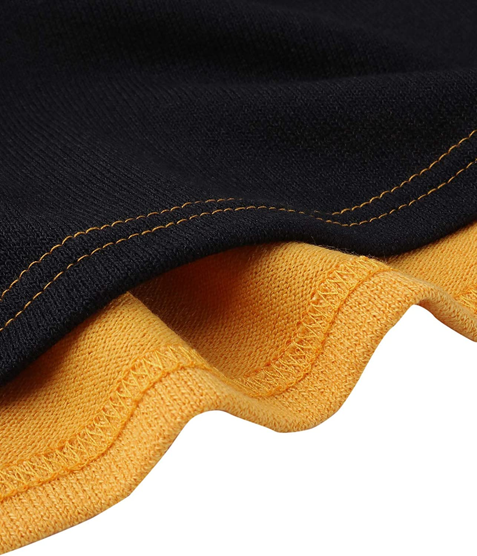 Yoys dise/ño de rayas Jersey de manga larga para mujer