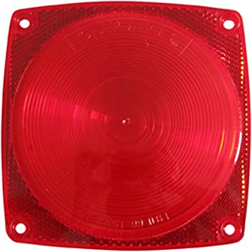 Optronics A-31RBP Red Replacement Lens