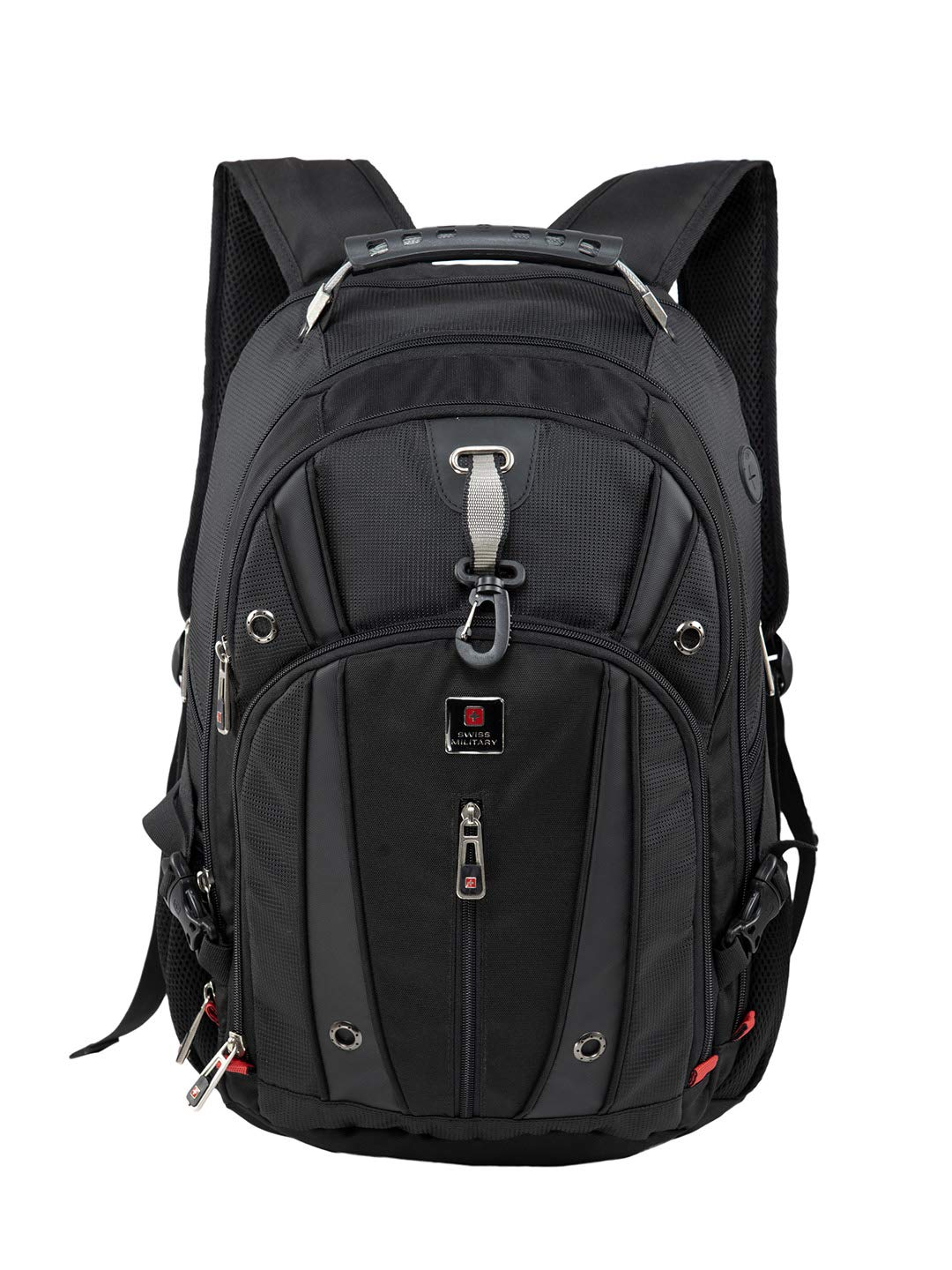 Swiss Military Luxery Collection 31 Ltrs Black Laptop Backpack (LBP76)