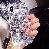 ikasus Case for iPhone Xs Max,iPhone Xs Max Diamond Case,3D Handmade Bling Rhinestone Diamonds Luxury Sparkle…