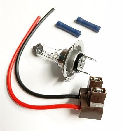 h7 bulb wiring wiring diagrams scwamazon com h7 499 477 bulb \u0026 holder plug headlamp wiring repair h6w bulb h7 bulb wiring