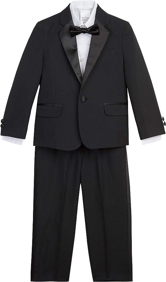 Nautica Boys' 4-Piece Tuxedo Set with Dress Shirt
