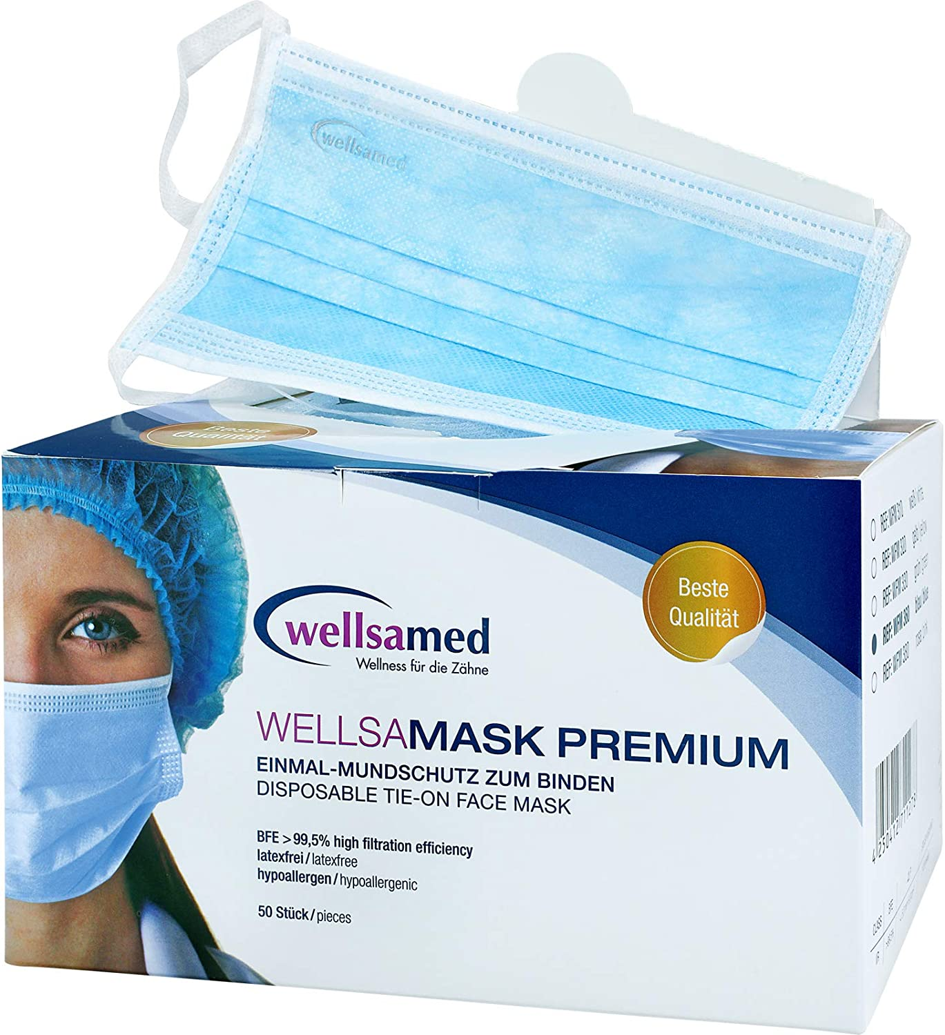 wellsamask disposable surgical masks