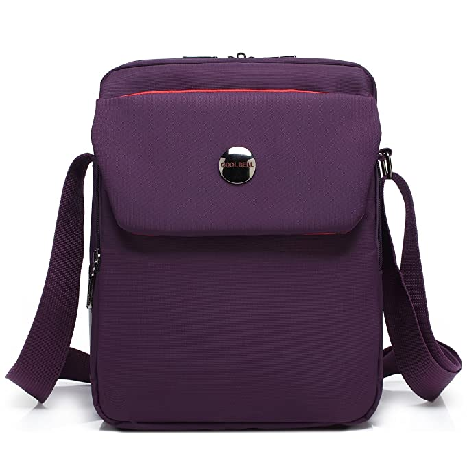 b5176274fc20 CoolBELL 10.6 inches shoulder bag Fabric messenger bag iPad carrying case  Hand bag Tablet Briefcase Waterproof Oxford cloth