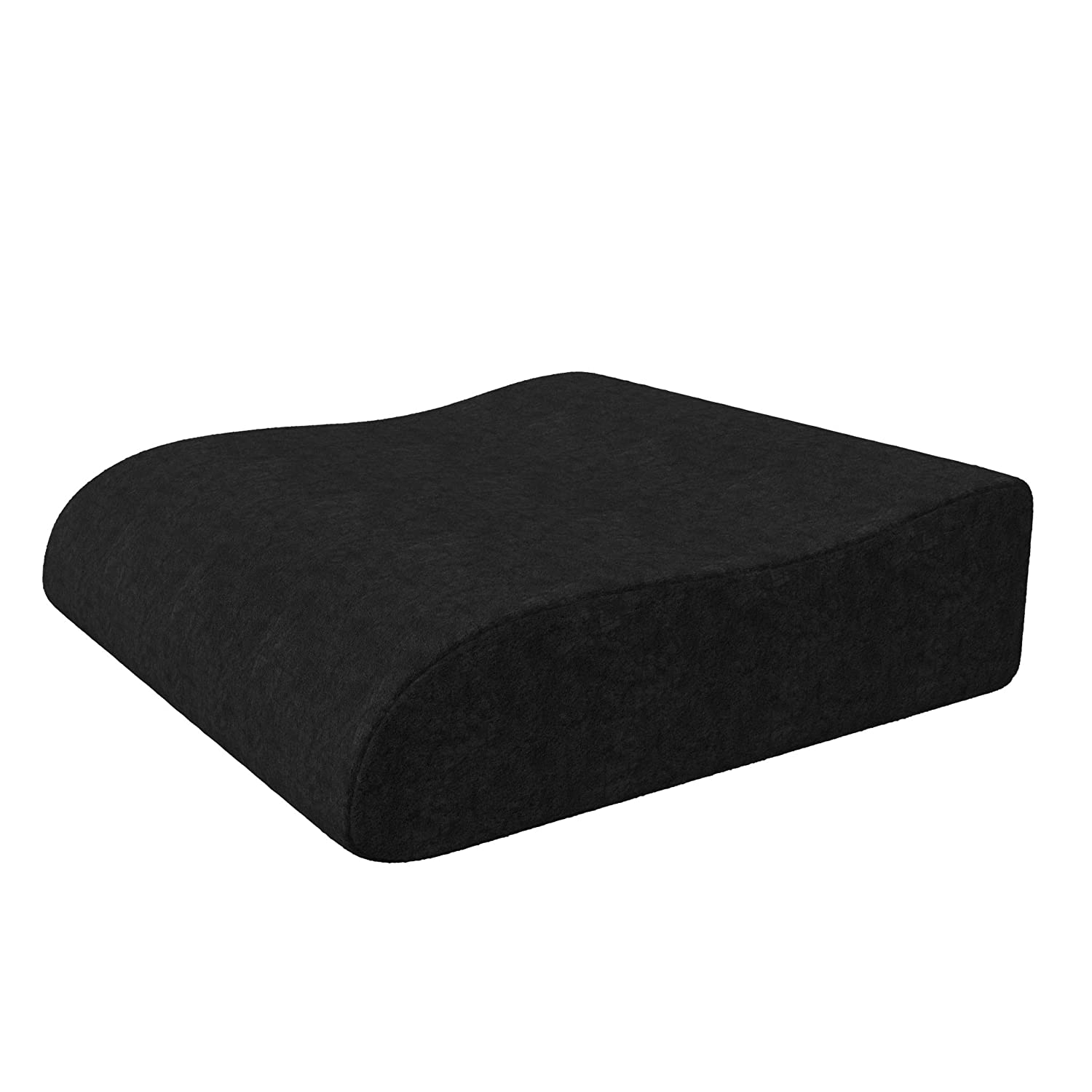 bonmedico Raiser Seat Cushion, Innovative Foam Chair Cushion, Ergonomic Wedge Cushion with High Seating Comfort, Booster Seat to Support Standing Up from The Armchair