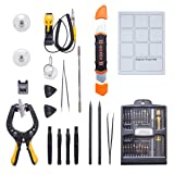 Syba Precision Screwdriver Set with Magnetic Driver Kit, Professional Electronics Repair Tool Kit with Portable Oxford Bag for Repair Cell Phone, iPhone, iPad, Watch, Tablet, PC, MacBook and More