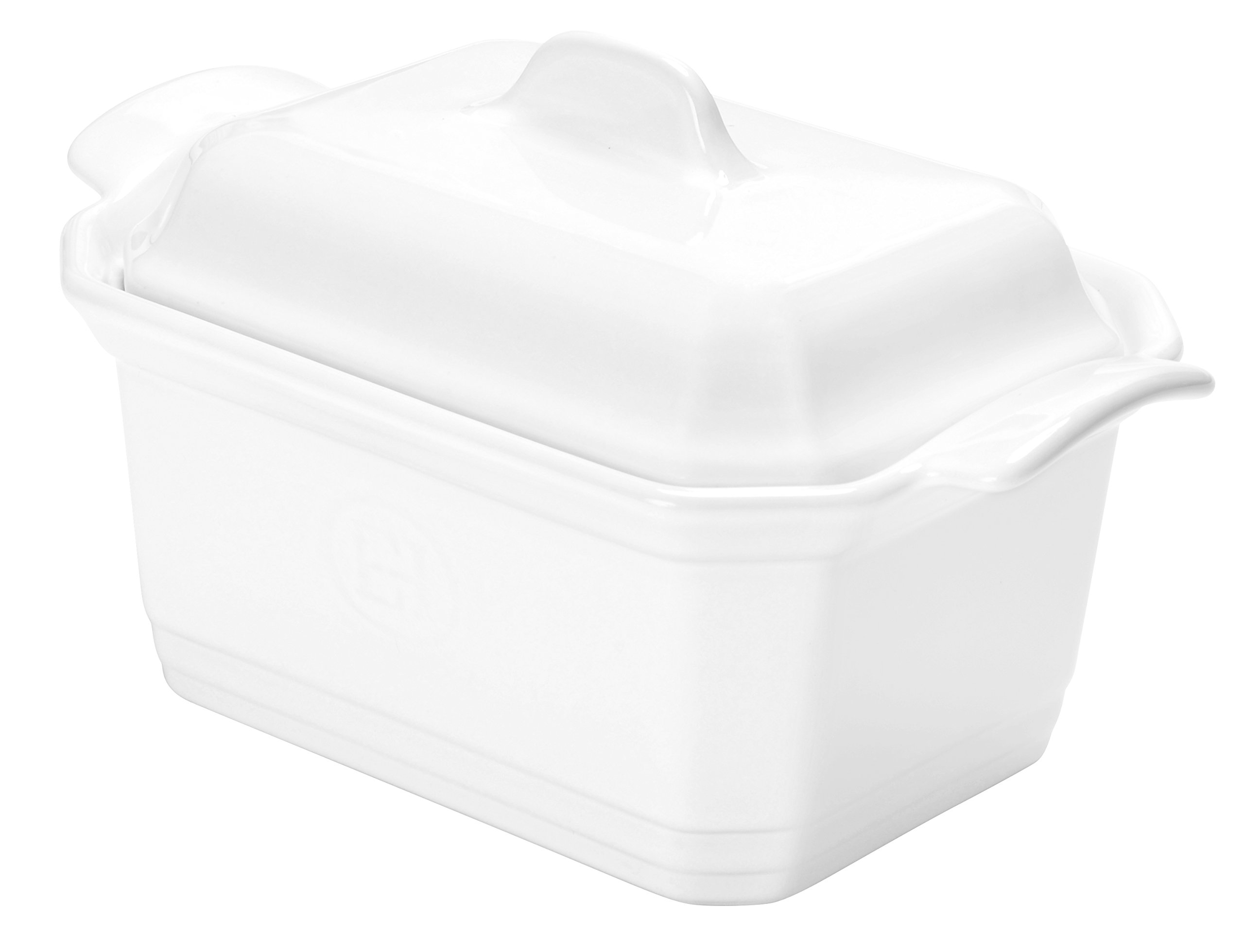Emile Henry 119706 France Ovenware Terrine & Press, Small, Flour White by Emile Henry