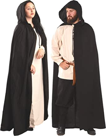 byCalvina - Calvina Costumes Hero Medieval Hooded Cape by CALVINA Costumes – Unisex - Made in Turkey