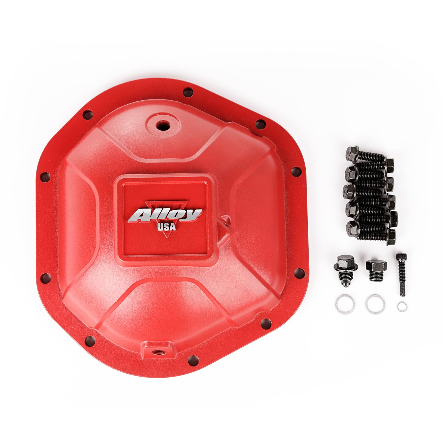 Outland 11212 Red Aluminum Differential Cover for Dana 44, 1 Pack