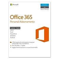 Microsoft Office 365 Personal [1 PC/1 anno] (Versione 2016)