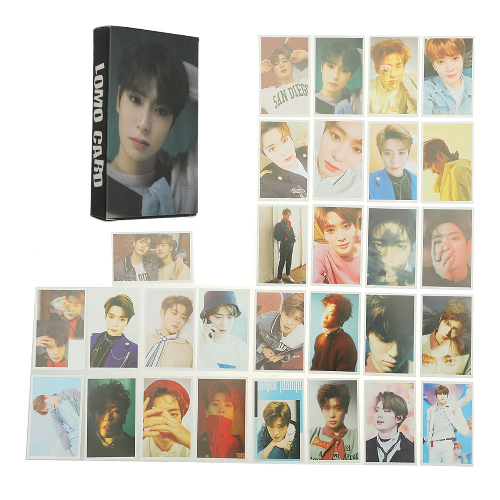 Bosunshine NCT U 127 2018 Empathy Paper Cards New Ablum REALI Postcads Colletion Cards New Merchandise Accessories for Fans Perfect Gift Keychain-03