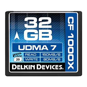 Amazon.com: Delkin ddcfcombat1000 – 16 GB UDMA 7 tarjeta de ...