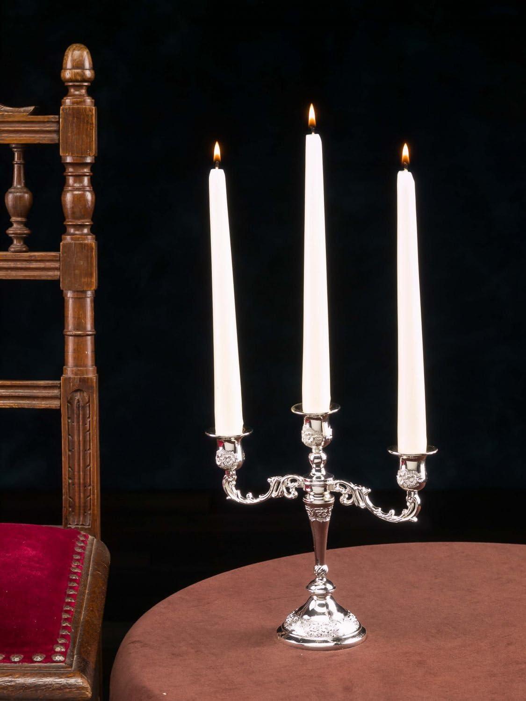 Kerzenleuchter 47cm Leuchter Altarleuchter Kerzenständer Antik-Stil goldfarben