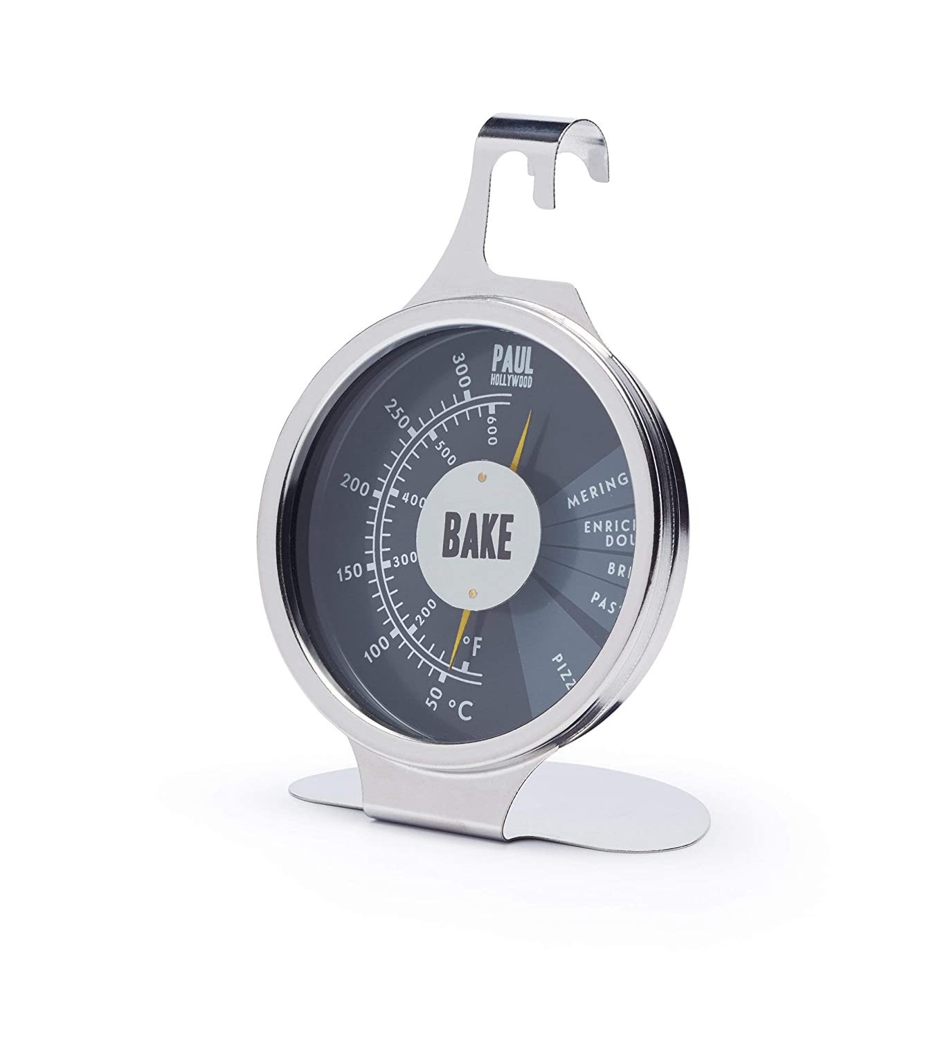 Paul Hollywood By Kitchencraft Stainless Steel Oven Thermometer