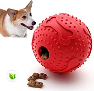 ThinkPet Rubber Dog Chew Toy Durable Teeth Cleaning Treat Dispensing Toy