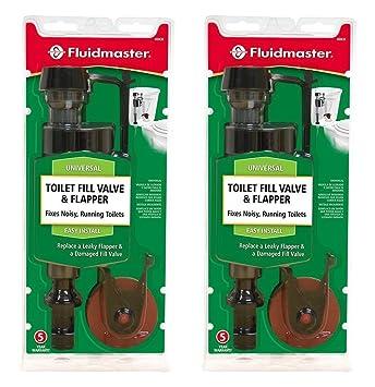 toilet flapper repair kit. Fluidmaster 400CRP14 Toilet Fill Valve and Flapper Repair Kit  2 Pack