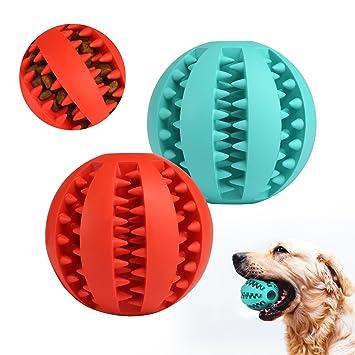 De Masticar Para Jugar Gwhole Bola Goma Juguete Perros Mascotas lFJT1cK