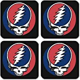 Grateful Dead - Steal Your Face Coasters 4 x 4in
