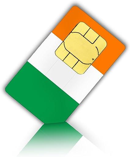 prepaid karte irland SIM Karte für Irland + 4GB mobiles InterDatenvolumen   Nano