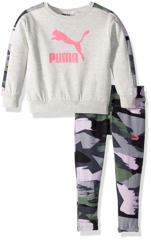 PUMA Toddler Girls' Fleece and Legging Set