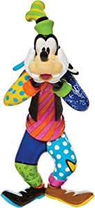 Enesco Disney by Romero Britto Goofy Figurine, 10.4 Inch, Multicolor