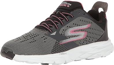 Skechers Go Run Ride 6 - Zapatillas Deportivas para Exteriores, Color Gris, Talla 36.5 EU: Skechers: Amazon.es: Zapatos y complementos