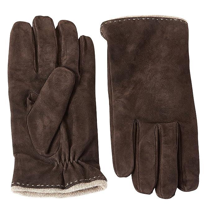 Guanti invernali in pelle scamosciata da uomo Guanti da guida guanti da  guida 100% cashmere 27b2b196299d