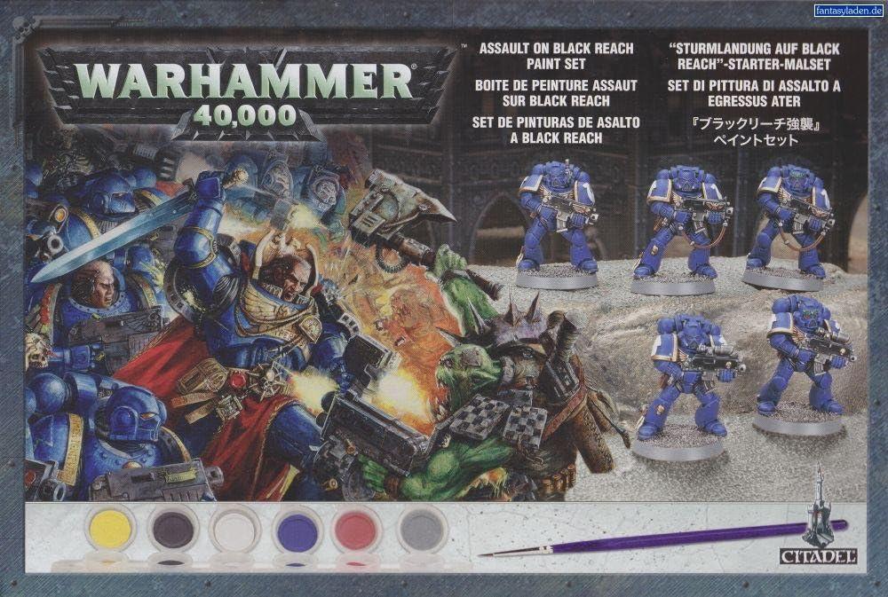 Warhammer 60-17. Caja de pintura (Black Reach): Amazon.es: Juguetes y juegos