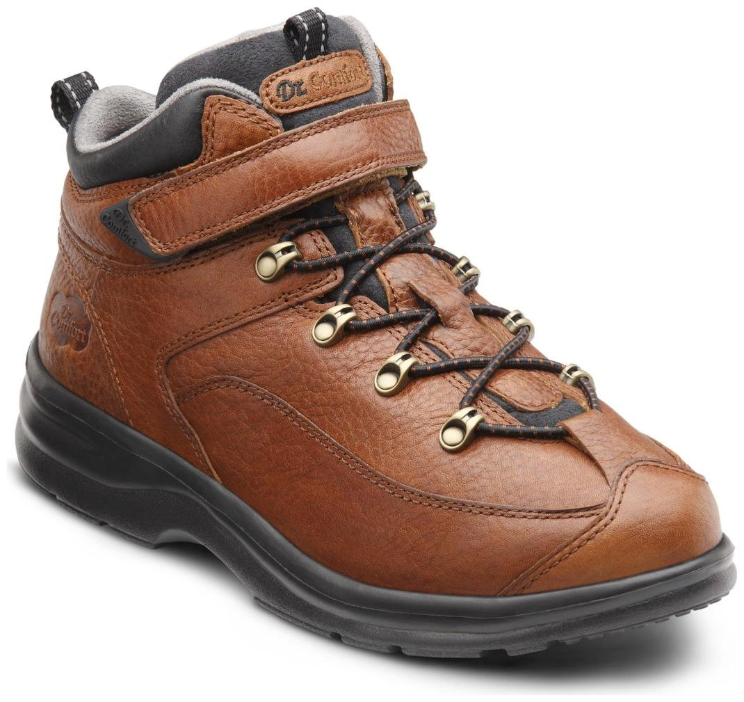Dr. Comfort Vigor Women's Therapeutic Diabetic Extra Depth Hiking Boot: Chestnut 8.5 X-Wide (E-2E) Lace