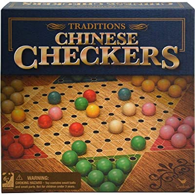 Cardinal Traditonal Chinese Checkers Game: Toys & Games