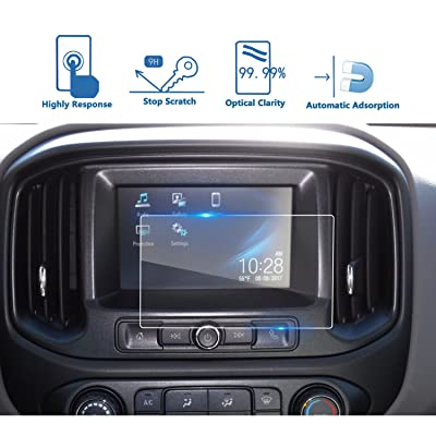 LFOTPP Fit for 2015-2020 2020 Colorado 7 Inch Car Navigation Screen Protector, [9H] Tempered Infotainment Glass Center Touch Screen Protector Anti Scratch High Clarity: GPS & Navigation