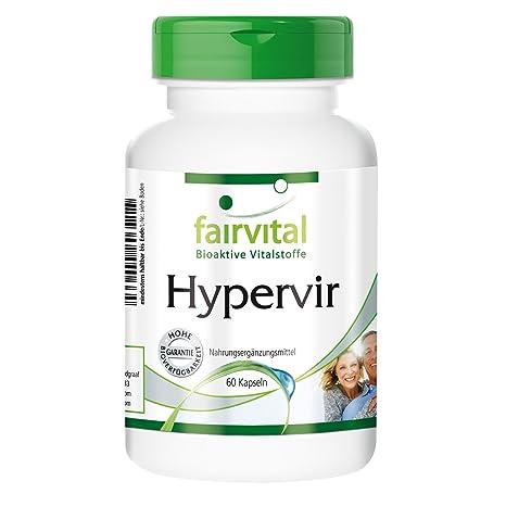 Hypervir - T con L-arginina, azufaifo, el ginseng - durante 2 meses