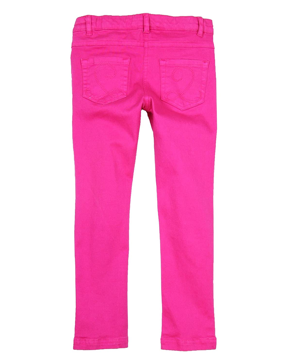Deux par Deux Girls Basic Denim Pants Very Berry Sizes 2-12
