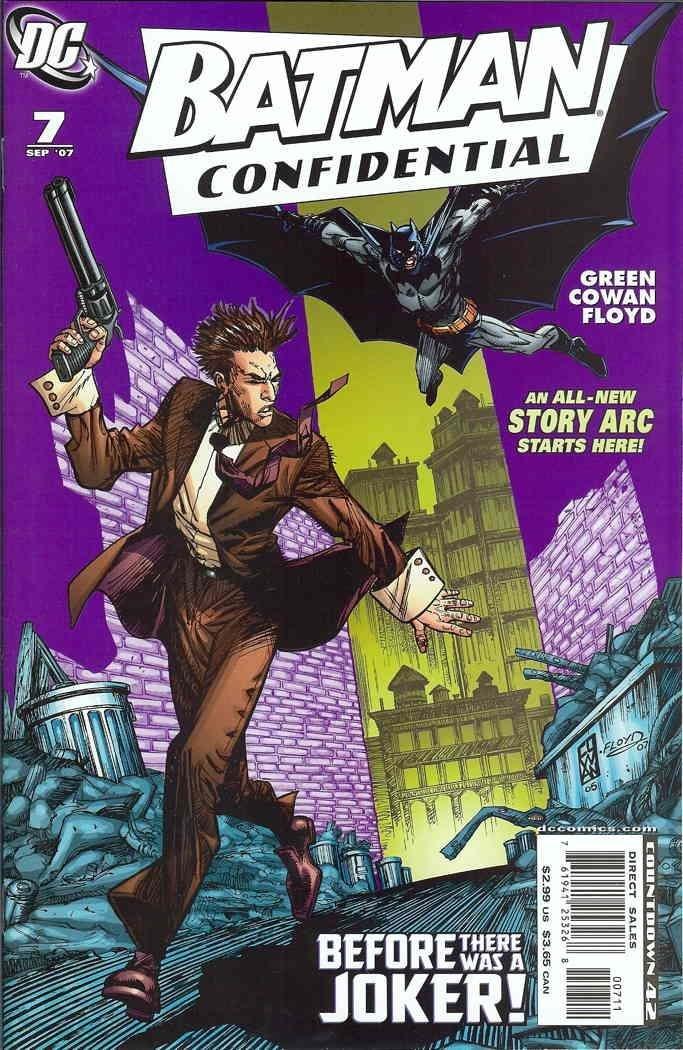 Download Batman Confidential 7 (Before There Was A Joker) pdf epub