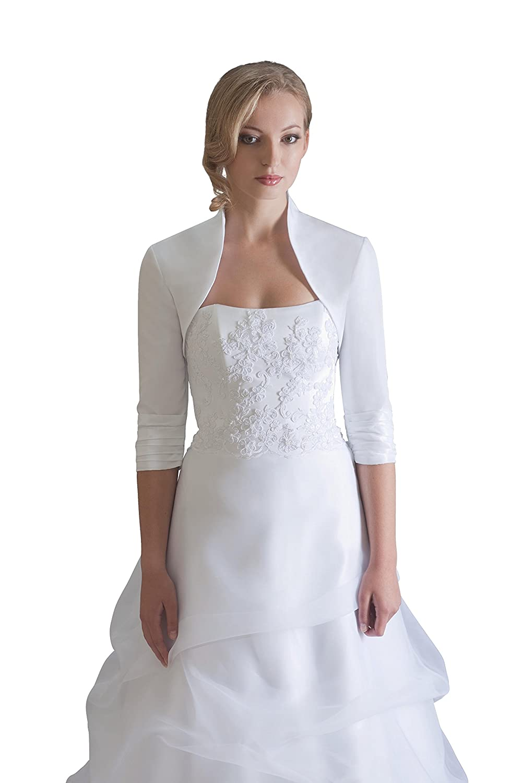 Hochzeits Bolero Brautkleider Jacke Braut aus Taft - BE208: Amazon ...