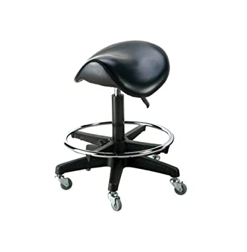 Saddle Stool Salon Rolling Stool Salon Stool  sc 1 st  Amazon.com : salon stool chair - islam-shia.org