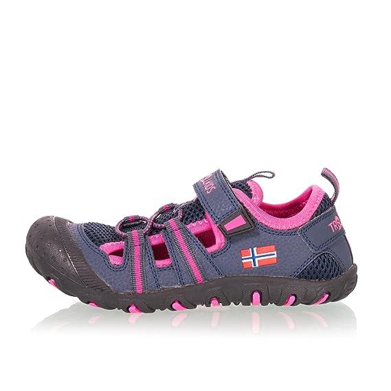 Trollkids Sport Sandals Kids Sandefjord Sandal Fuchsia/Turquoise EU 29 b6XUpD9q