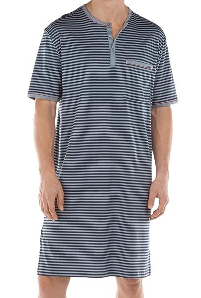 Calida Sansibar Nachthemd-Pijama Onesie Hombre Passat Grey S