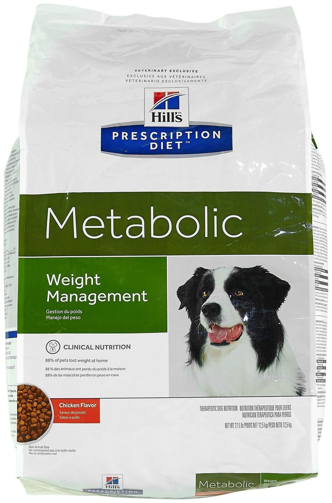 Hill's Prescription Diet Metabolic Canine Dry Dog Food, 27.5-lb bag