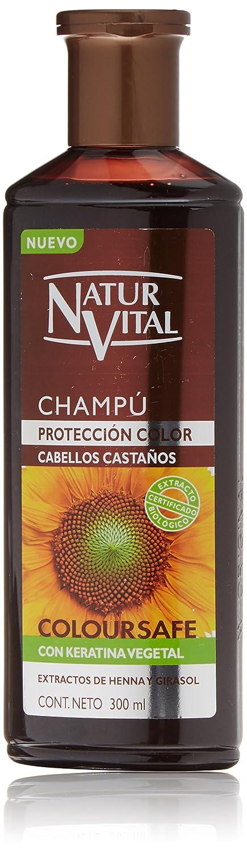 Naturaleza y Vida Shampoo Color Brown - 300 ml 8414002740208