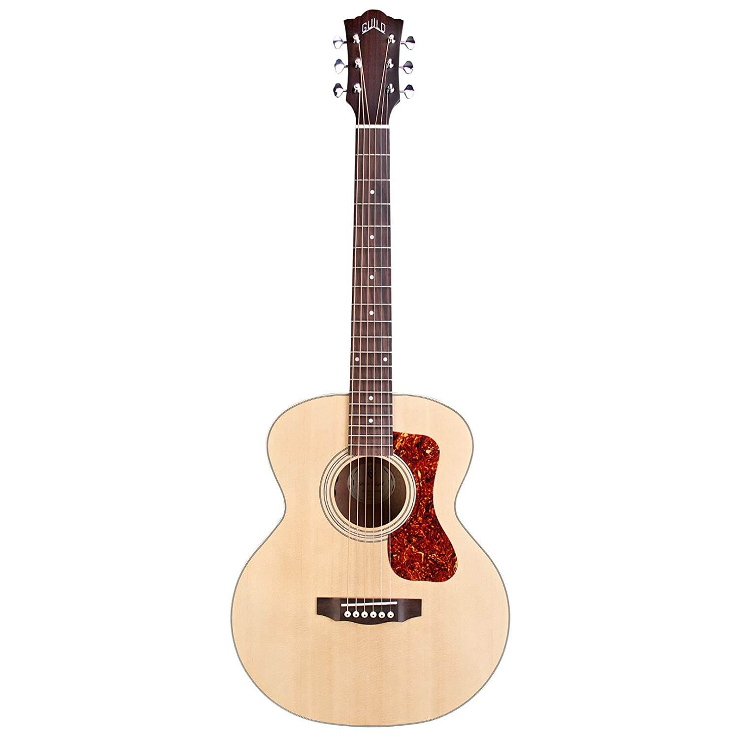 fa8a97c6e17 Amazon.com: Guild Jumbo Junior Mahogany Acoustic-Electric Guitar: Musical  Instruments