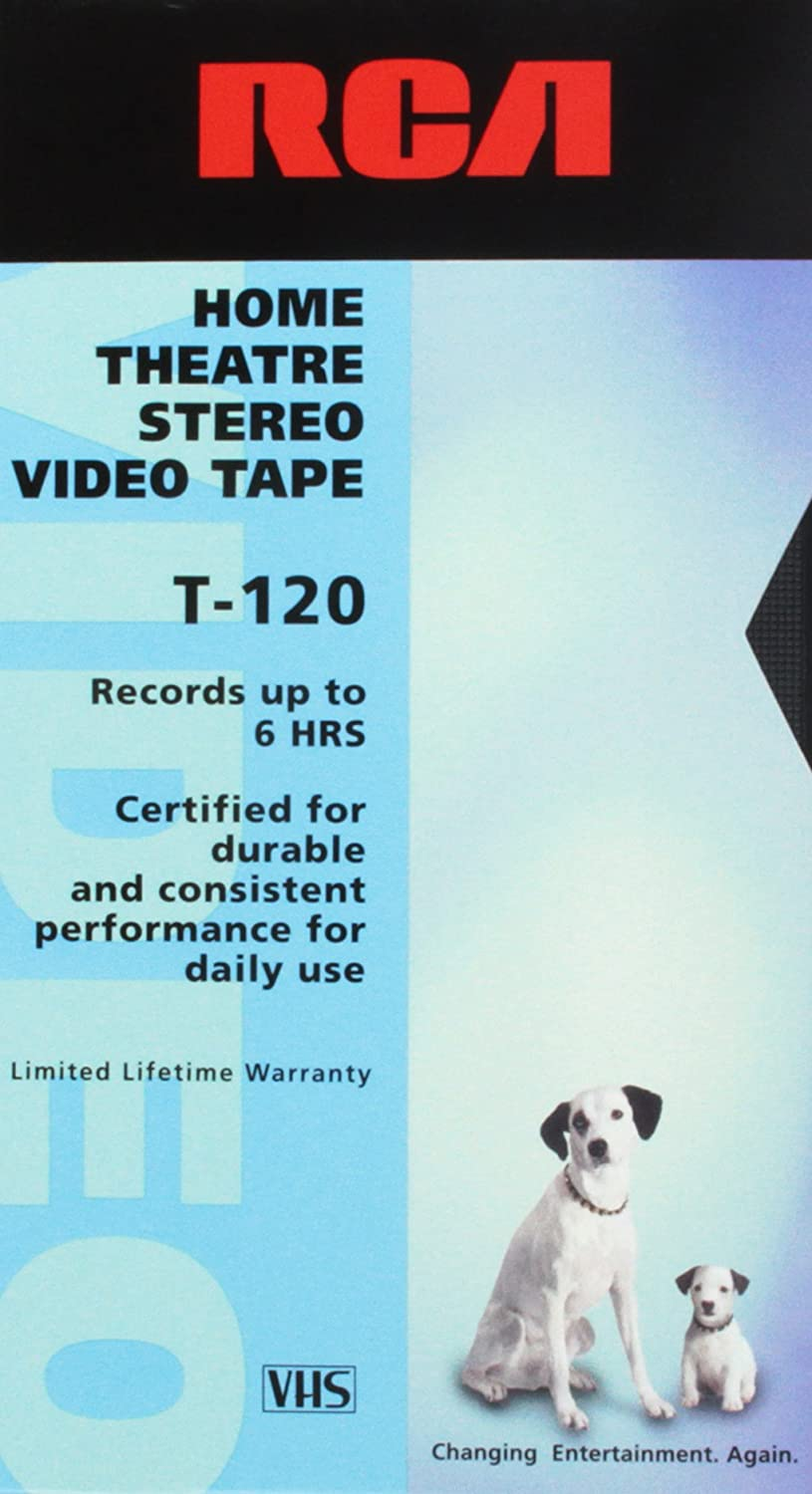 Amazon.com: RCA Home Theatre Stereo Video Tape T-120: Movies & TV