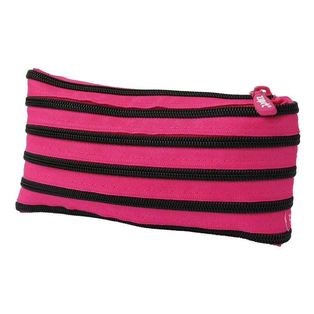 zipit (Zip-It) pen case Bright pouch pink begonia & Black teeth