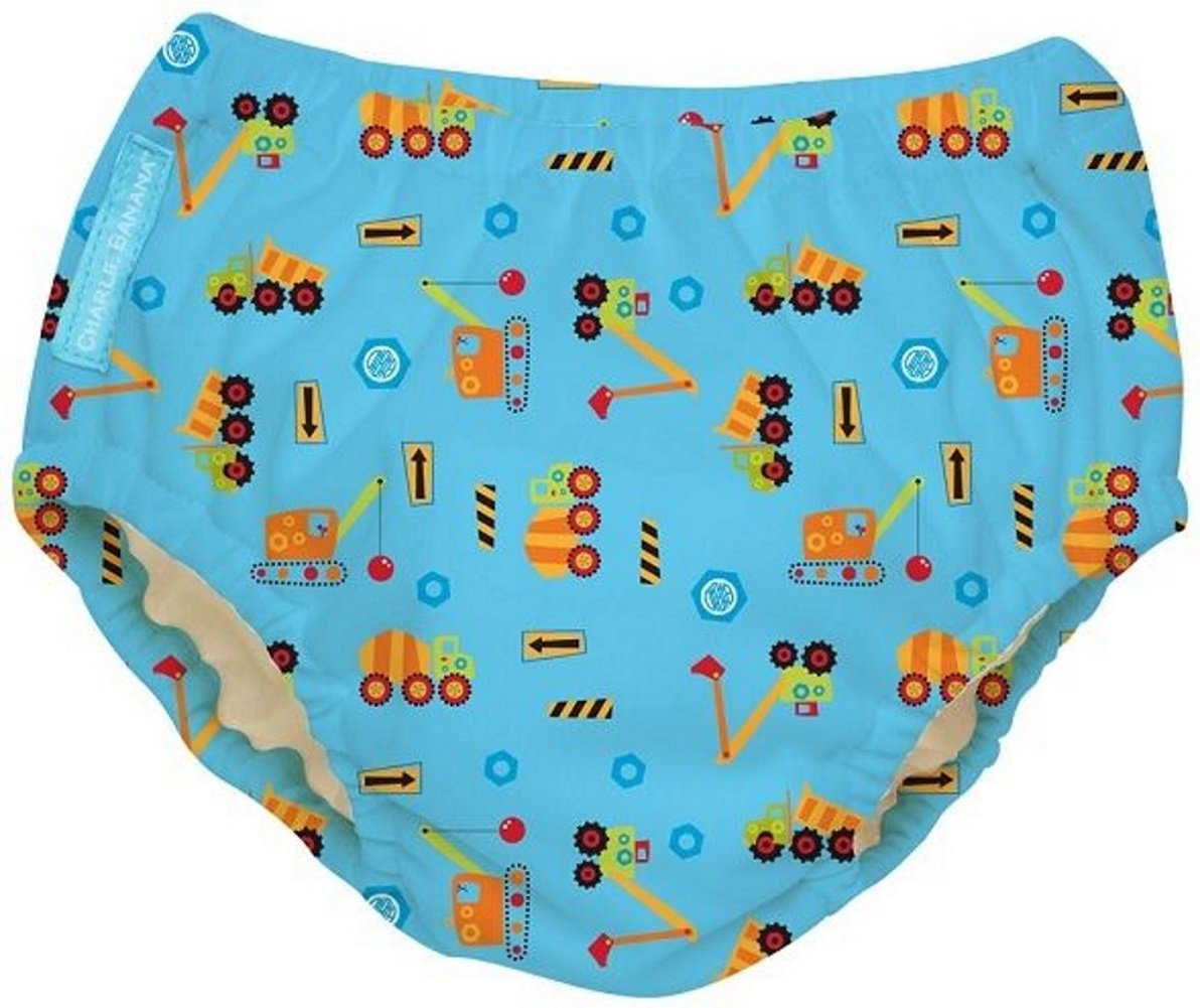 Charlie Banana Extraordinary Swim Diaper, Green, Large 889966
