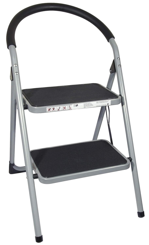 ProDec 2-escalera plegable acero EN1418 objetivo 150 kg de carga de trabajo