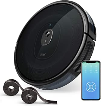 Dser 1600Pa Strong Suction Wi-Fi Connected Robot Vacuum Cleaner
