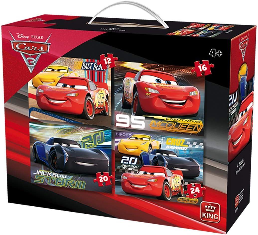 King 4 Disney Pixar Cars Jigsaw Puzzles