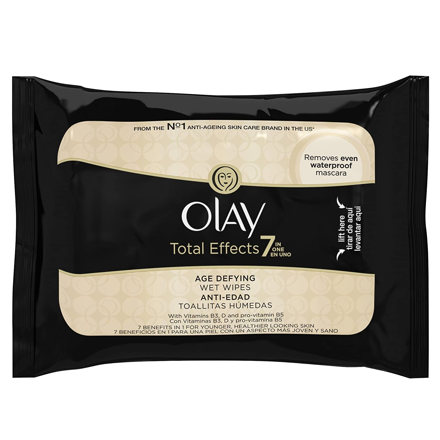 Amazon.com : Olay Total Effects Cleansing Wet Cloths - Pack of 20 : Beauty