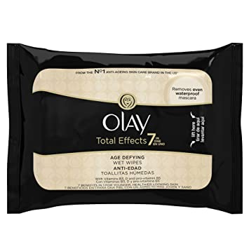 Olay Total Effects Cleansing Wet Cloths - Pack of 20
