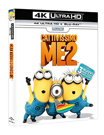 Cattivissimo Me 2 Blu-Ray 4K Ultra Hd+Blu-Ray Italia Blu-ray ...